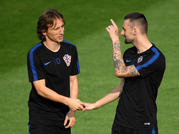 Luka Modric,Marcelo Brozovic
