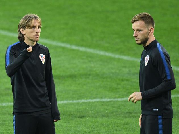 Croatia Training Session