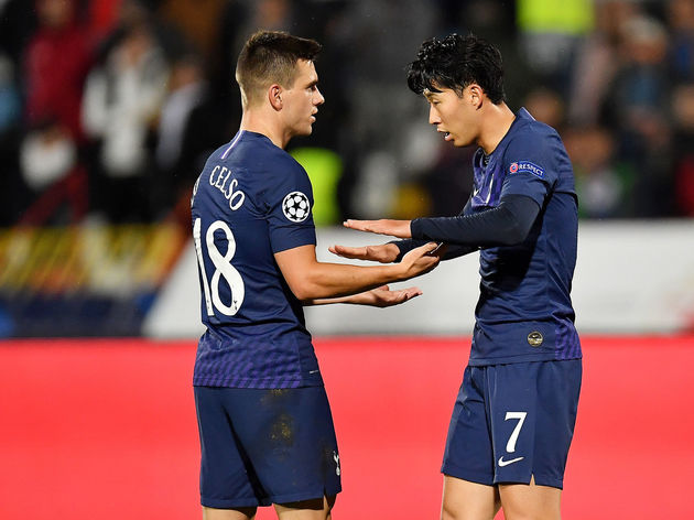 Heung-Min Son,Giovani Lo Celso