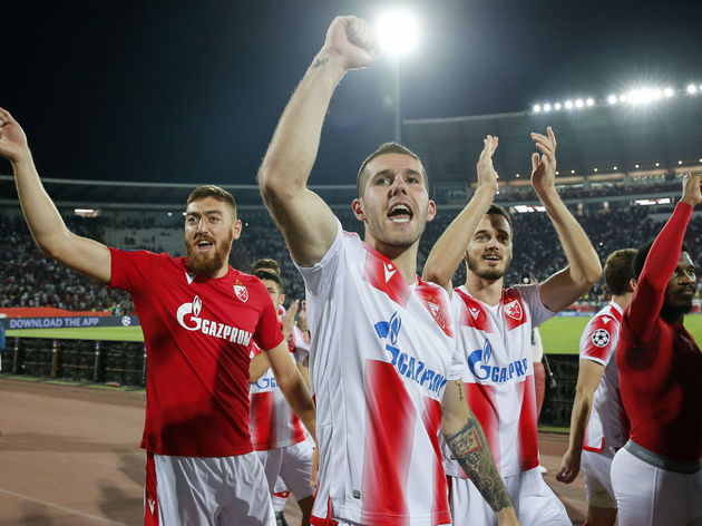 Crvena Zvezda v Young Boys - UEFA Champions League Play Off: Second Leg
