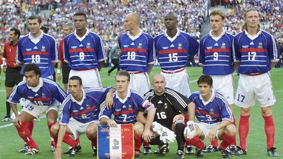 CUP-FR98-BRA-FRA-FRENCH TEAM