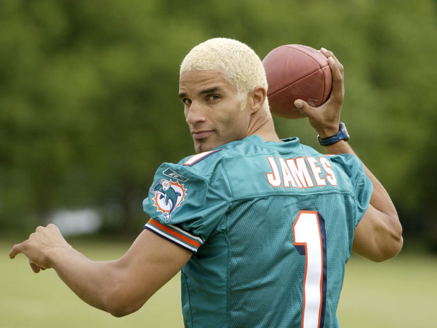 David James Prepares For Trip To Miami
