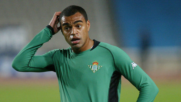 Denilson of Real Betis in action