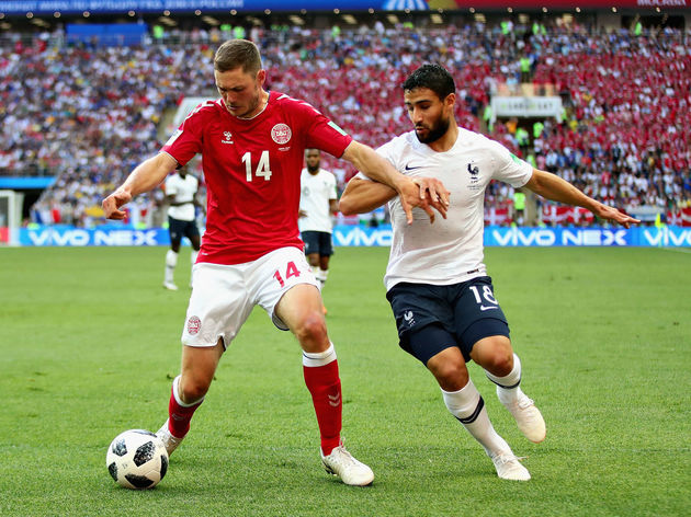 Denmark v France: Group C - 2018 FIFA World Cup Russia