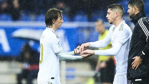 Federico Valverde,Luka Modric