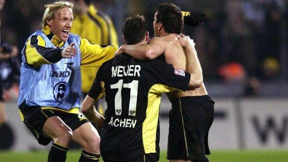 DFB Pokal Halbfinale 03/04,  Aachen-Gladbach