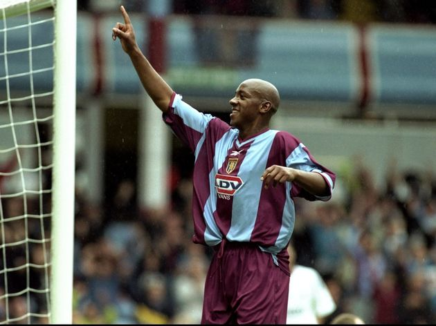 Dion Dublin of Aston Villa