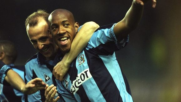 Dion Dublin of Coventry City