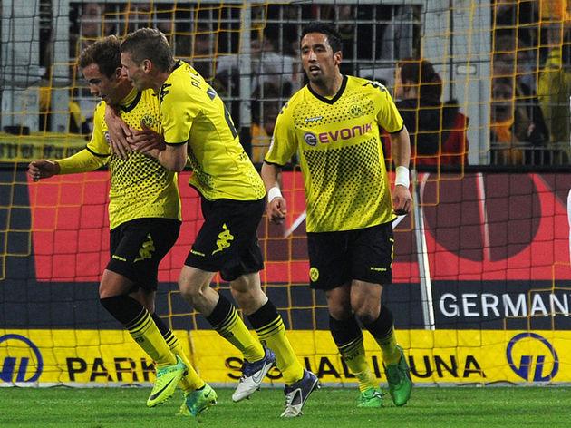 Dortmund's midfielder Mario Goetze, Dort