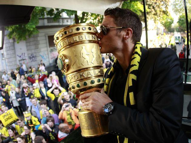 Dortmund's midfielder Sebastian Kehl kis