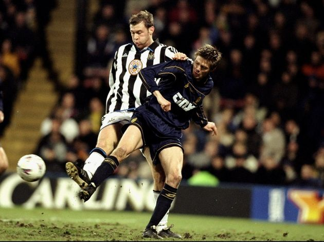 Duncan Ferguson and Trond Anderson