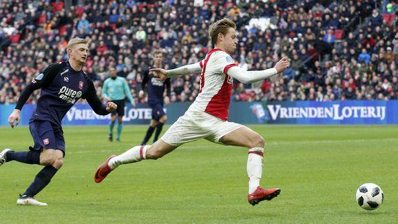 Dutch Eredivisie'Ajax v FC Twente'