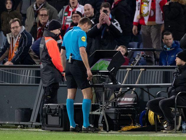 """Dutch Eredivisie""""Feyenoord v Willem II"""""""