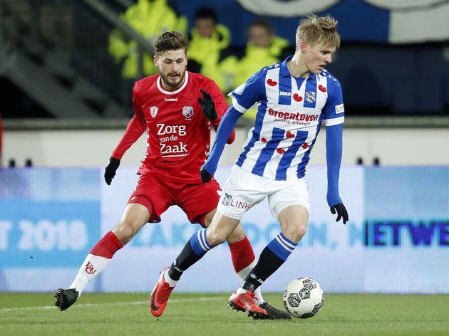 Dutch Eredivisie'SC Heerenveen v FC Utrecht'