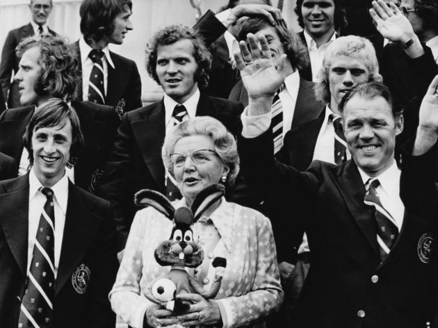 Johan Cruyff,Queen Juliana,Rinus Michels