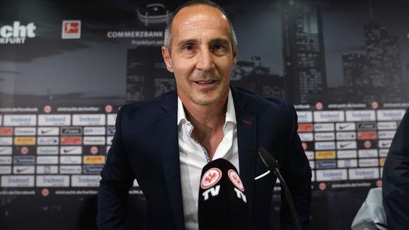 Eintracht Frankfurt Unveils New Head Coach Adi Huetter