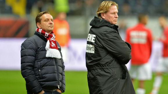 Horst Heldt,Markus Gisdol
