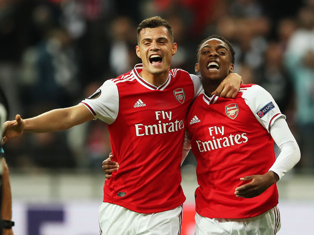 Joe Willock,Granit Xhaka