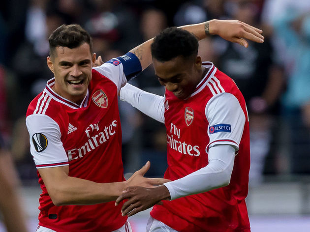 Granit Xhaka,Joe Willock