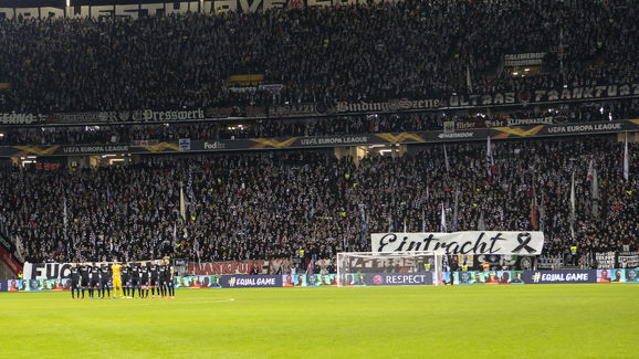 Eintracht Frankfurt v RB Salzburg - UEFA Europa League Round of 32: First Leg