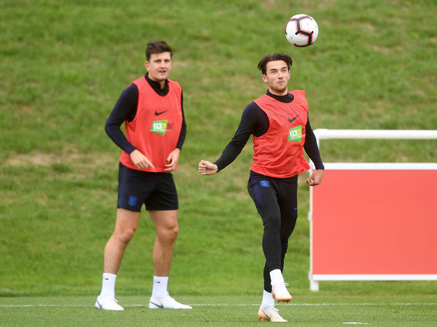 Ben Chilwell,Harry Maguire