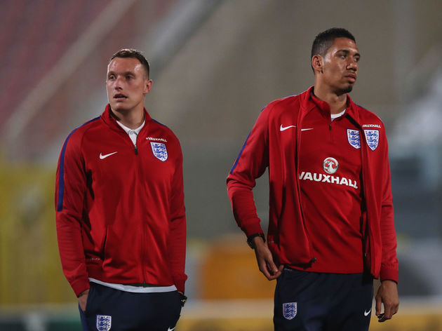 Phil Jones,Chris Smalling