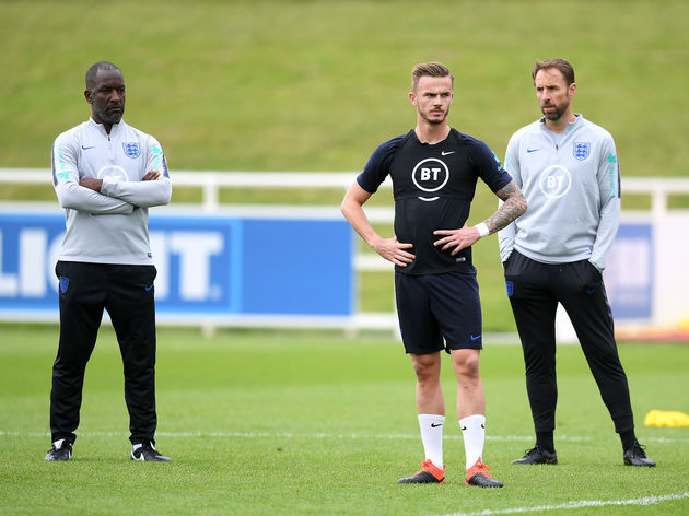 Chris Powell,Gareth Southgate,James Maddison