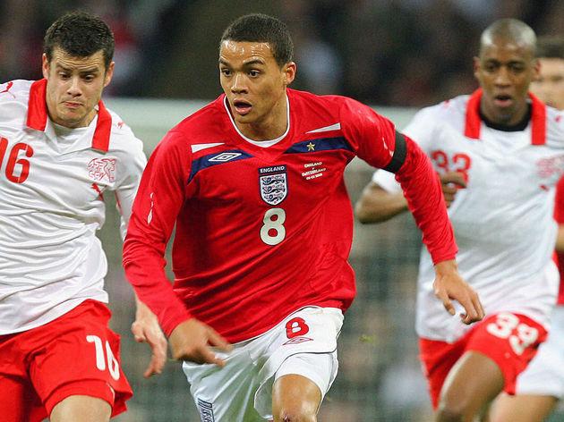 England's match goal scorer, Jermaine Je