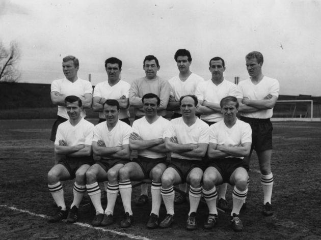 Bobby Moore,Bobby Smith,Gordon Banks,Maurice Norman