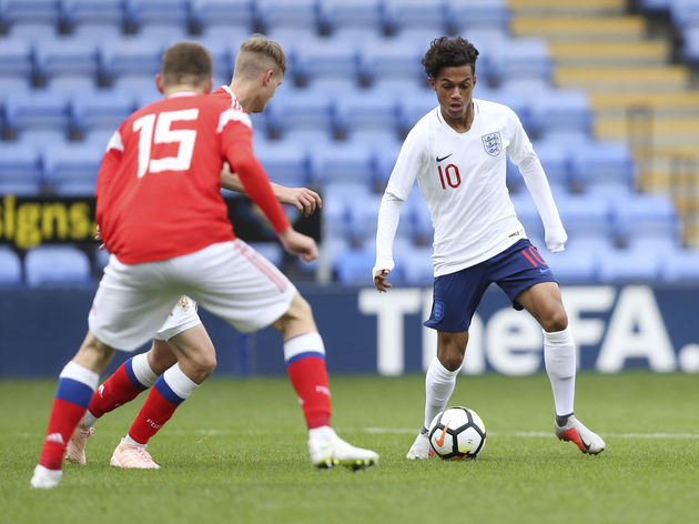 England U17 v Russia U17: Friendly International