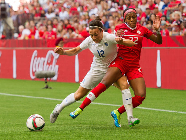 Lucy Bronze,Ashley Lawrence