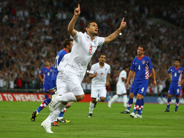 England v Croatia - FIFA 2010 World Cup Qualifier