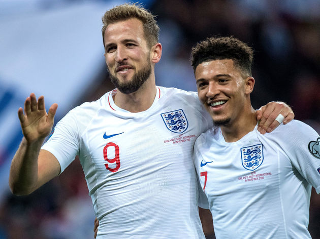 Harry Kane,Jadon Sancho