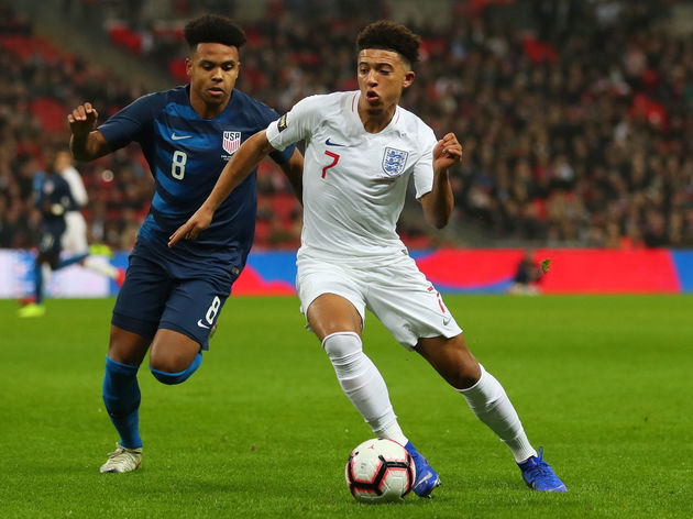 Jadon Sancho,Weston McKennie