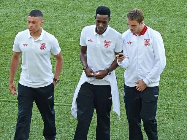 English forwards Alex Oxlade-Chamberlain