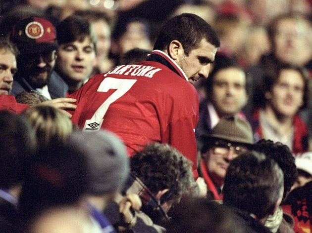 Eric Cantona of Manchester United
