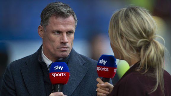Jamie Carragher,Laura Woods