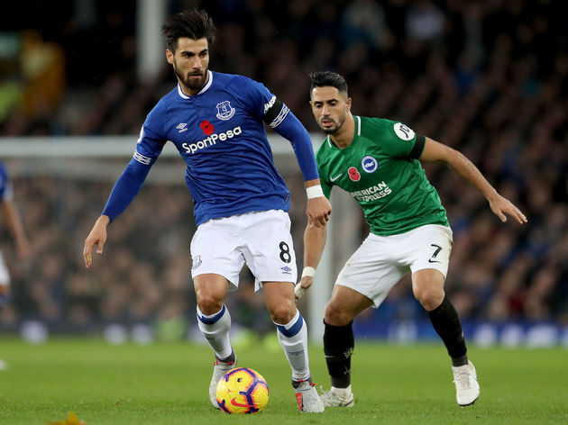 Everton FC v Brighton & Hove Albion - Premier League