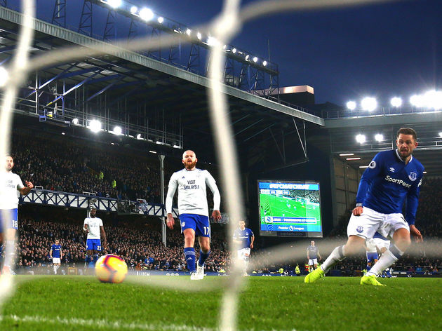 Everton FC v Cardiff City - Premier League