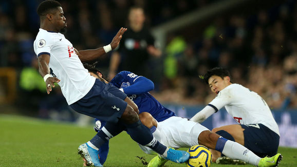 Andre Gomes,Son Heung-min,Serge Aurier