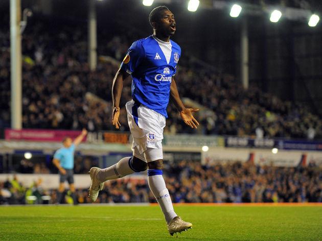 Everton's Nigerian defender Joseph Yobo