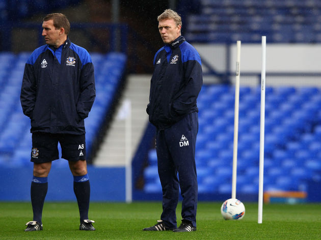 David Moyes,Alan Stubbs