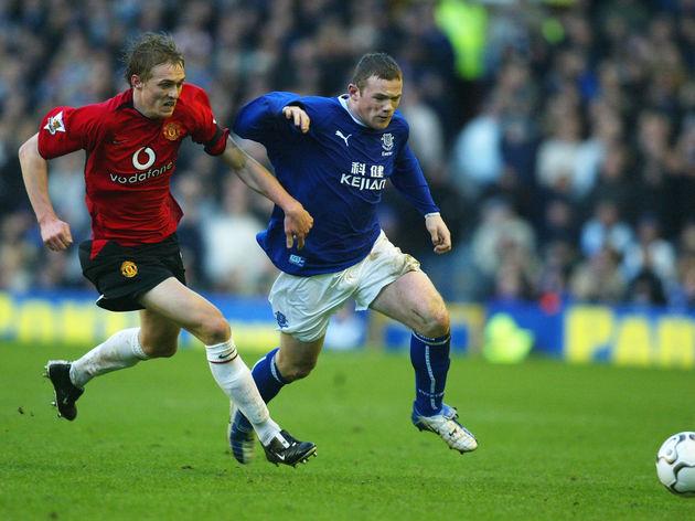Darren Fletcher,Wayne Rooney