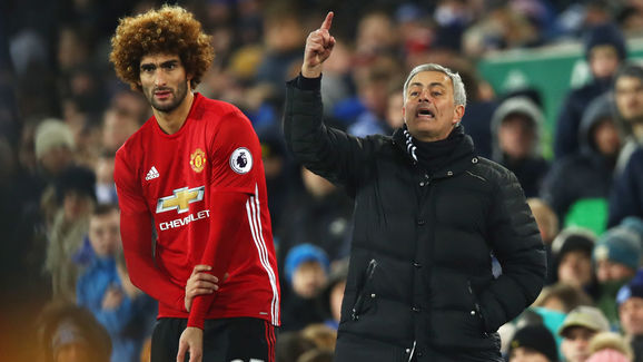 Jose Mourinho,Marouane Fellaini