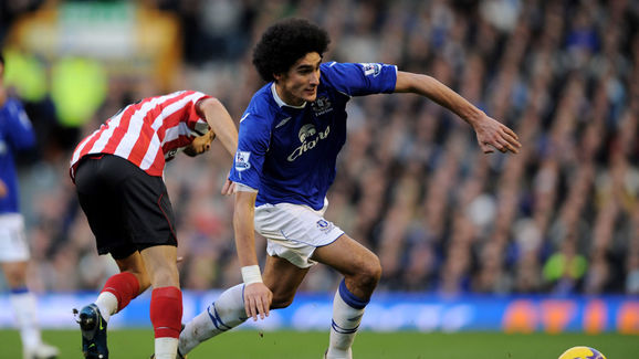 Marouane Fellaini,Carlos Edwards