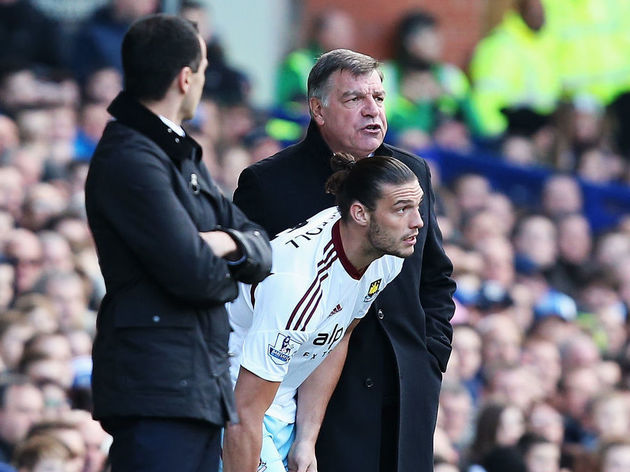Andy Carroll,Sam Allardyce