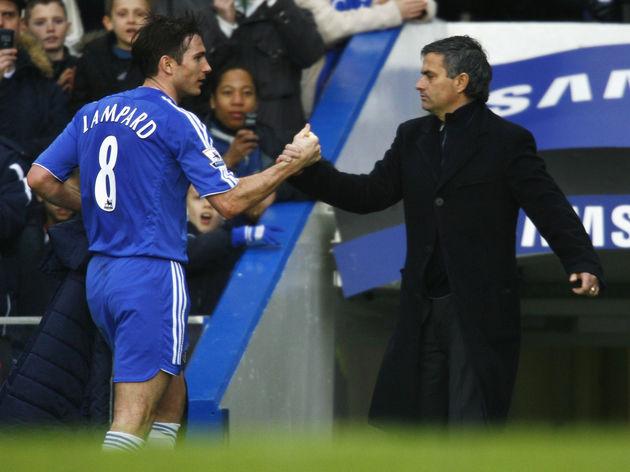 Jose Mourinho,Frank Lampard