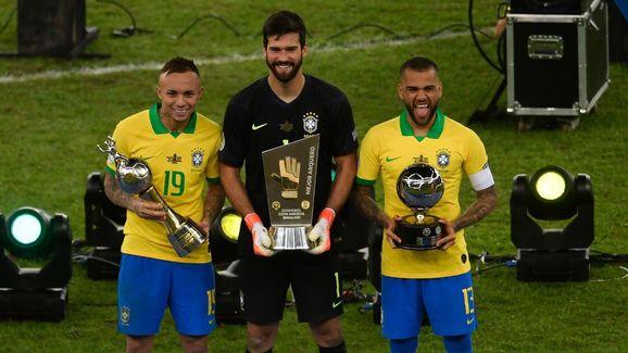 FBL-COPA AMERICA-2019-BRA-PER-TROPHY