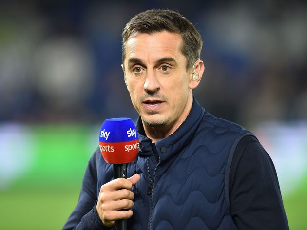 da5dae37fcf Gary Neville Reveals Why Man Utd Ditched Grey Kit at Half Time ...