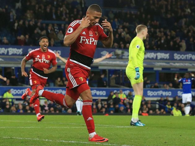 Everton Complete Club Record Signing of 21-Year-Old Watford Winger Richarlison